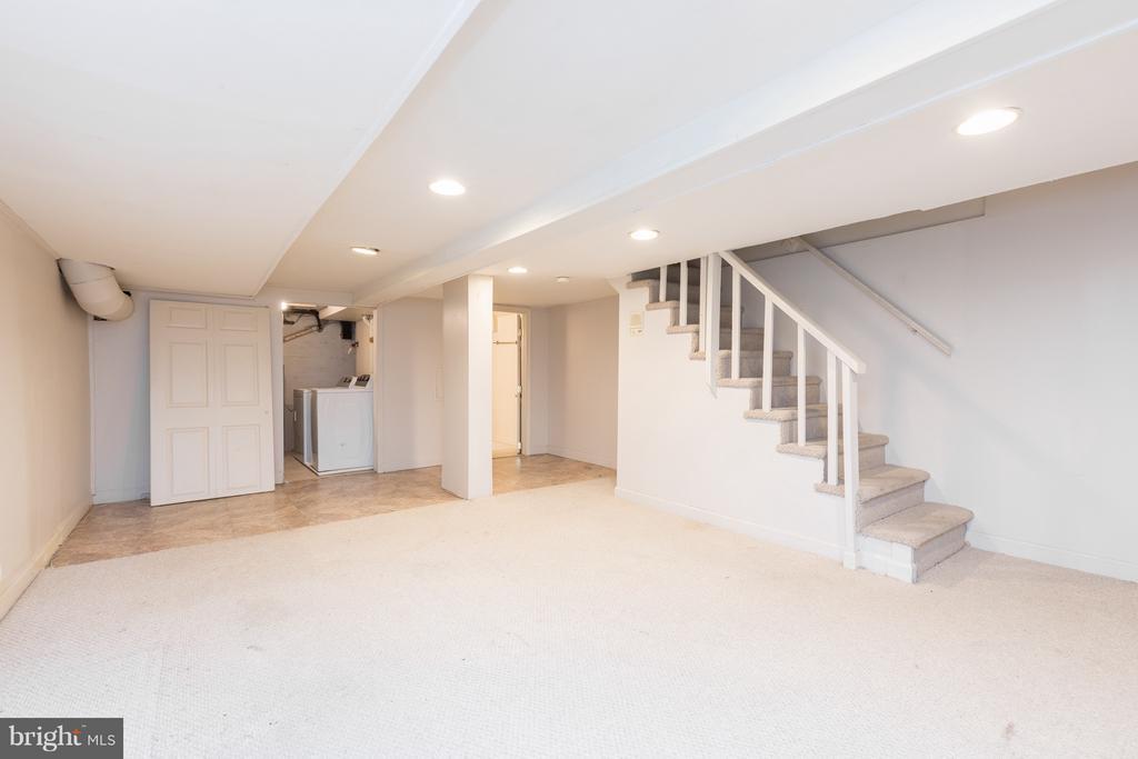 Fully finished basement - 1607 FAIRLAWN AVE SE, WASHINGTON