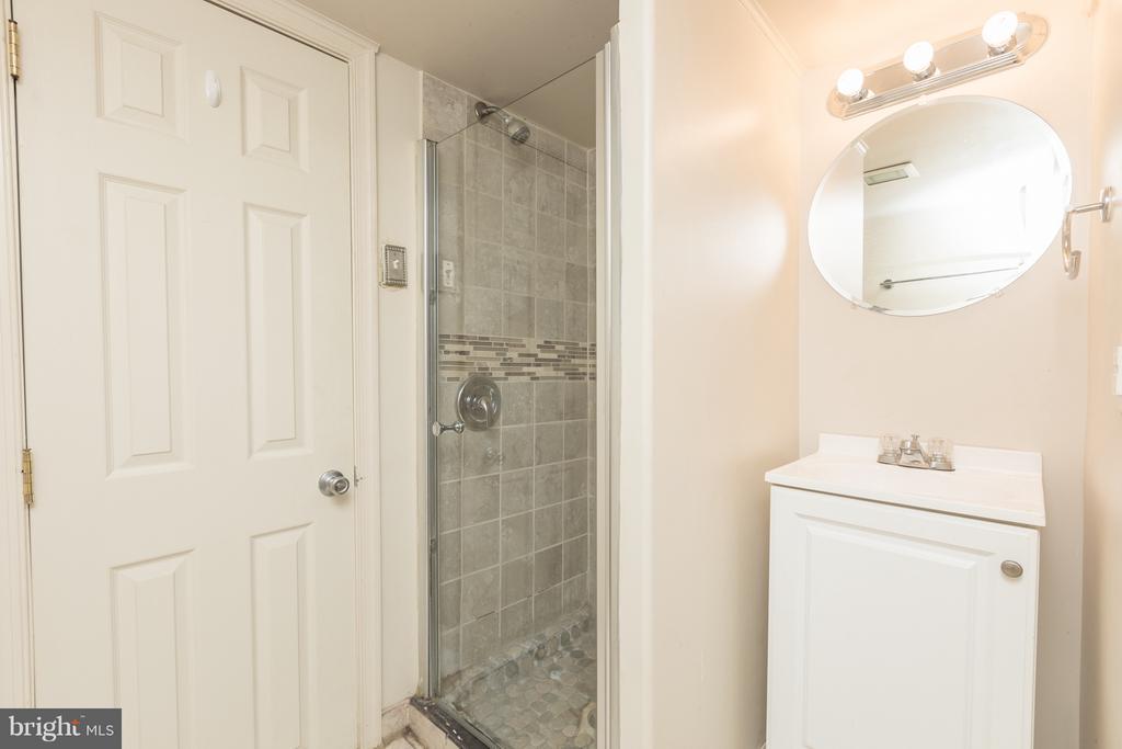 Basement Bathroom - 1607 FAIRLAWN AVE SE, WASHINGTON