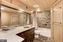 Full bath - 18822 WOODBURN RD, LEESBURG