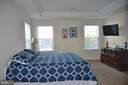 MASTER BEDROOM WITH TREY CEILING - 15106 ADDISON LN, WOODBRIDGE