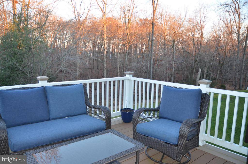 MAINTENANCE FREE DECK - 15106 ADDISON LN, WOODBRIDGE
