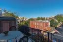 Balcony off Master Bedroom - 1309 22ND ST NW, WASHINGTON