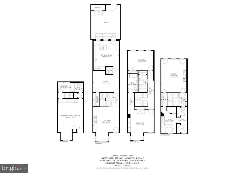 Floor Plans - 1309 22ND ST NW, WASHINGTON
