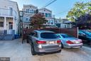 Rear 2-car parking - 1309 22ND ST NW, WASHINGTON