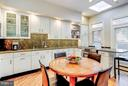 Eat-in Kitchen with breakfast bar - 1309 22ND ST NW, WASHINGTON