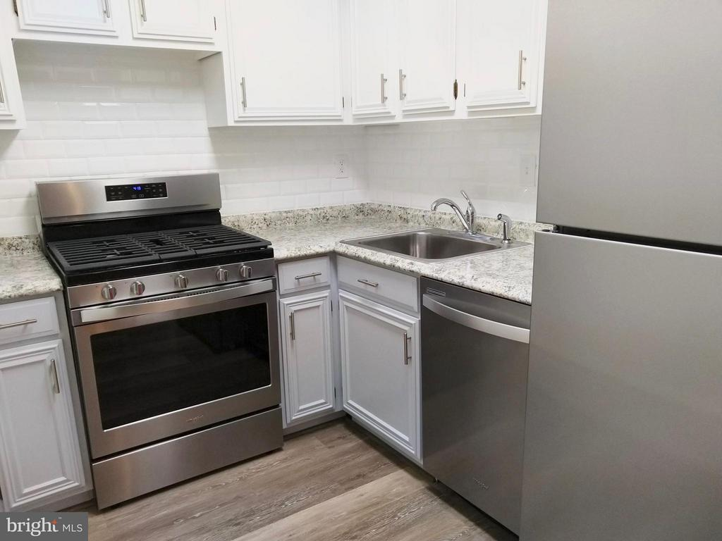 Updated kitchen with new stainless appliances - 490 M ST SW #W208, WASHINGTON