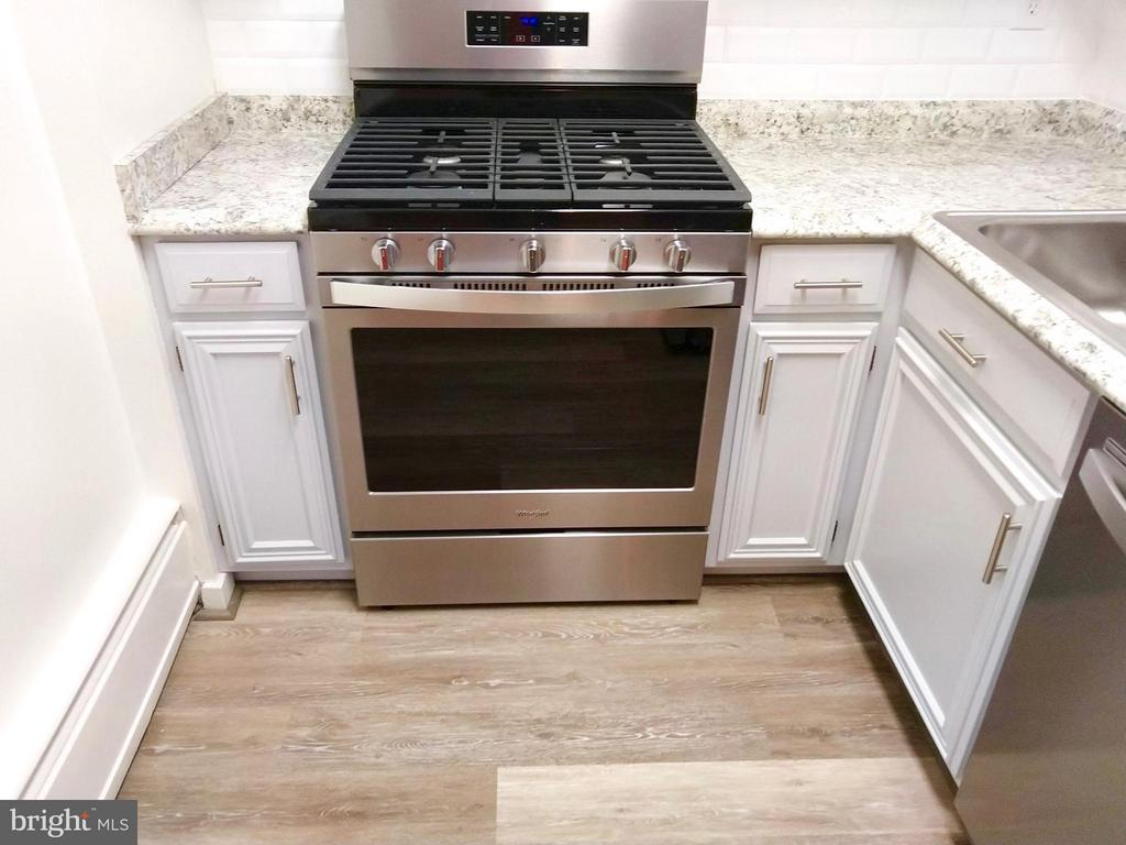 Updated kitchen with gas cooking - 490 M ST SW #W208, WASHINGTON