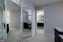 Master Bedroom Entrance w/ large walk in closet - 1600 N OAK ST #614, ARLINGTON