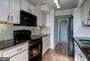 Kitchen - 1600 N OAK ST #614, ARLINGTON