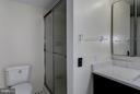 Master Bathroom with soaking tub and stand shower - 1600 N OAK ST #614, ARLINGTON
