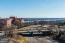 View from Sunroom - 1600 N OAK ST #614, ARLINGTON