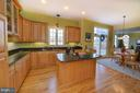 Fantastic kitchen with Granite! Large Island - 38814 BOCA CT, WATERFORD