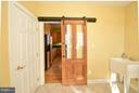 Barn doors and storage in Laundry! - 38814 BOCA CT, WATERFORD