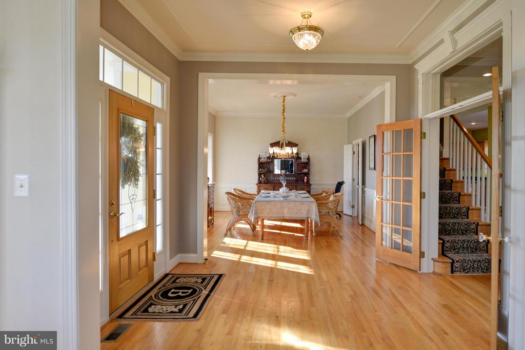 Foyer with French doors welcomes you home. - 38814 BOCA CT, WATERFORD