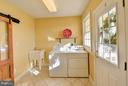 Main level laundry with walk out to porch. - 38814 BOCA CT, WATERFORD
