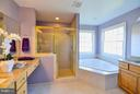 Master bath - 38814 BOCA CT, WATERFORD