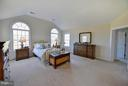 Large master bedroom with his and hers walk ins. - 38814 BOCA CT, WATERFORD
