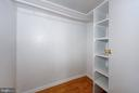 Walk-in Closet - 4101 CATHEDRAL AVE NW #1205, WASHINGTON