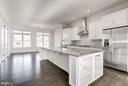 Soho Kitchen with Center Island - 42506 MILDRED LANDING SQ, ASHBURN