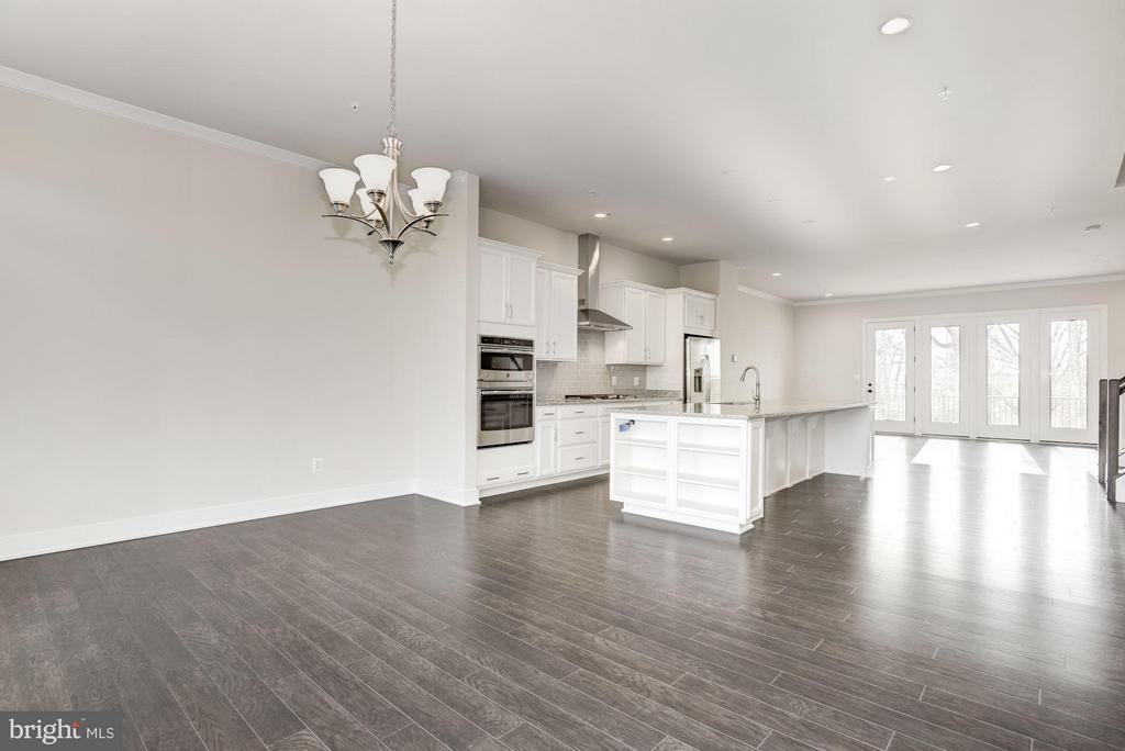 Dining Room & Kitchen - 42506 MILDRED LANDING SQ, ASHBURN