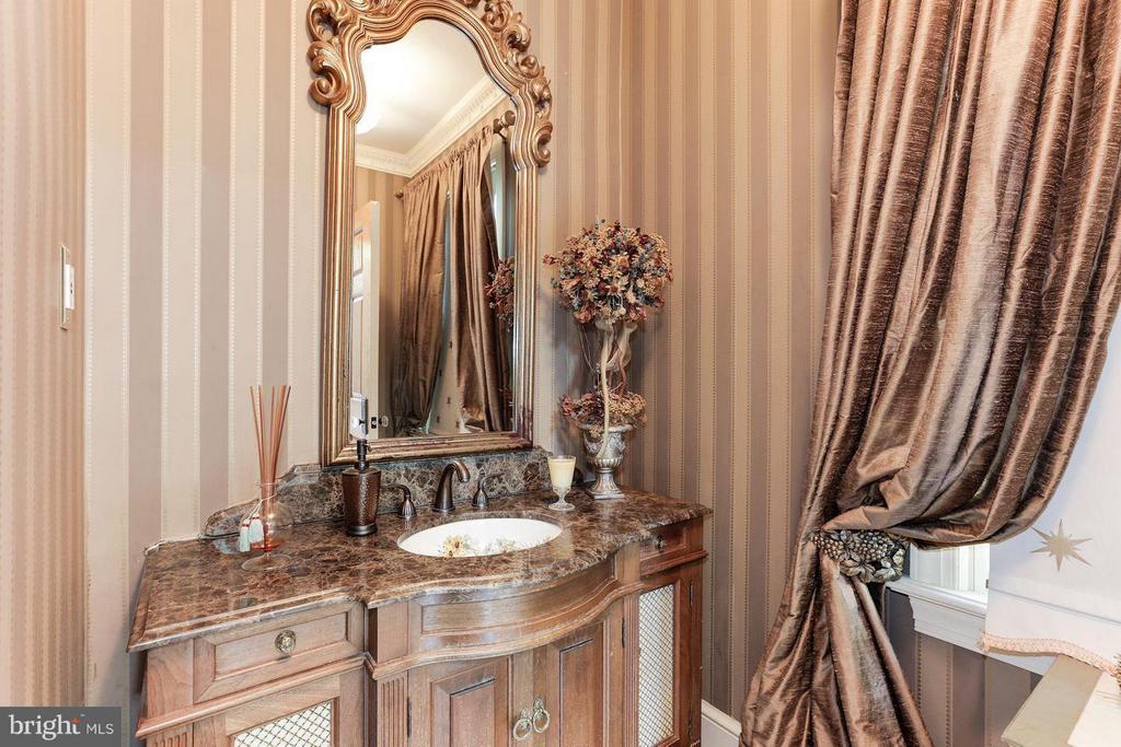 Elegant Powder Room - 1001 MURPHY DR, GREAT FALLS