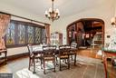 Dining Room - 8110 GEORGETOWN PIKE, MCLEAN