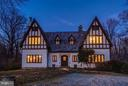 Exterior Front Twilight - 8110 GEORGETOWN PIKE, MCLEAN