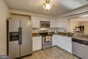 Kitchen with Stainless Steel Appliances - 3622 VAN HORN WAY, BURTONSVILLE