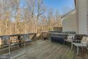 Deck off of Dining Area - 3622 VAN HORN WAY, BURTONSVILLE