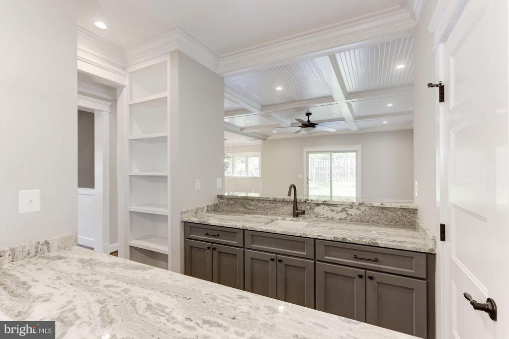 First Floor Wet Bar to Family Room (similar) - 6910 SYCAMORE ST, FALLS CHURCH