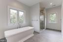 Master Bathroom - 6910 SYCAMORE ST, FALLS CHURCH