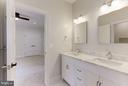 Jack/Jill Bathroom (similar) - 6910 SYCAMORE ST, FALLS CHURCH