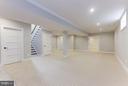 Basement Rec Room - 6910 SYCAMORE ST, FALLS CHURCH