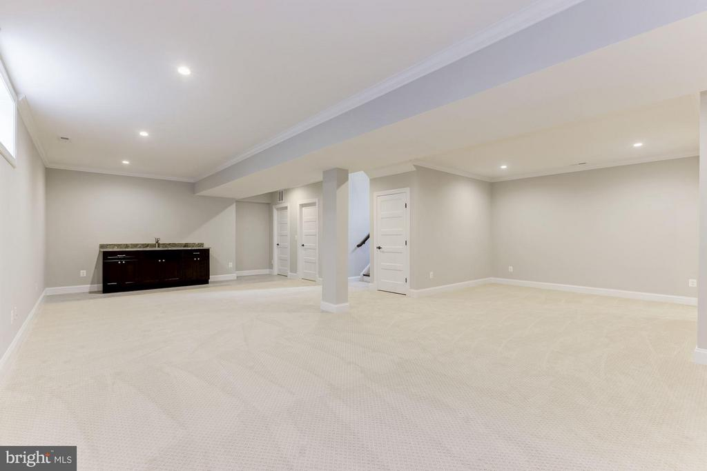 Basement with Wet Bar #2 - 6910 SYCAMORE ST, FALLS CHURCH