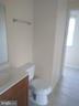 Full Bathroom upper floor - 111 N GARFIELD RD, STERLING