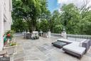 Expansive flagstone terrace - 1001 MURPHY DR, GREAT FALLS