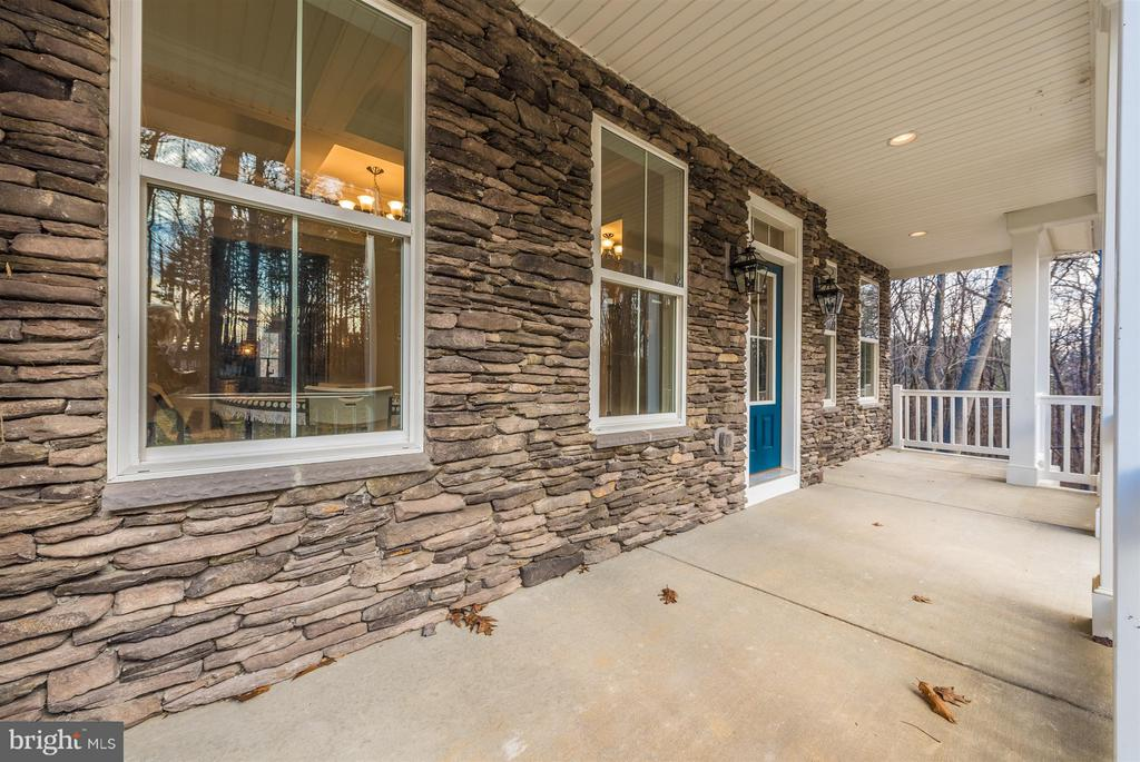 Great porch for a swing! - 7800 OLD RECEIVER RD, FREDERICK