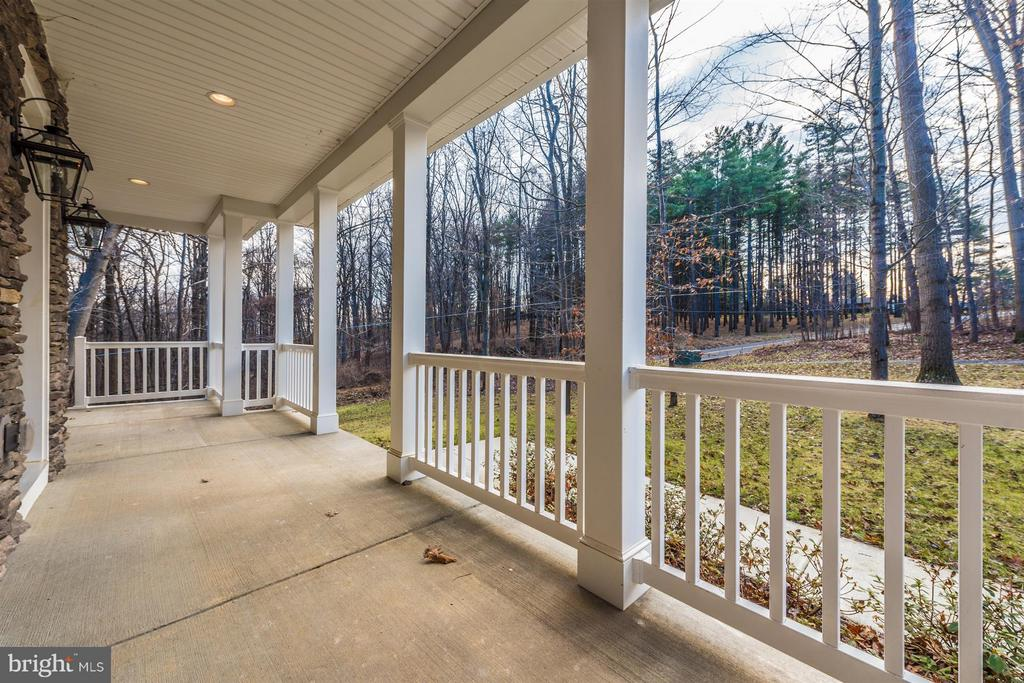 Front Porch view 2 - 7800 OLD RECEIVER RD, FREDERICK
