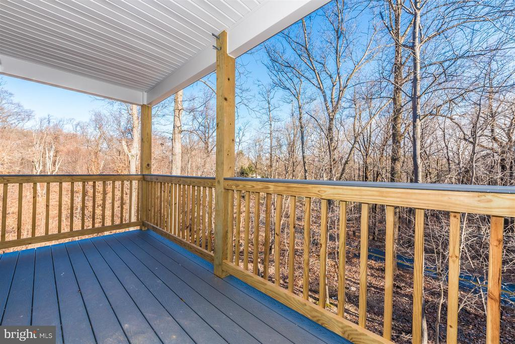 Balcony off master - 7800 OLD RECEIVER RD, FREDERICK