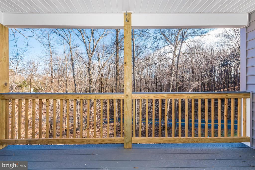Balcony off the master - 7800 OLD RECEIVER RD, FREDERICK