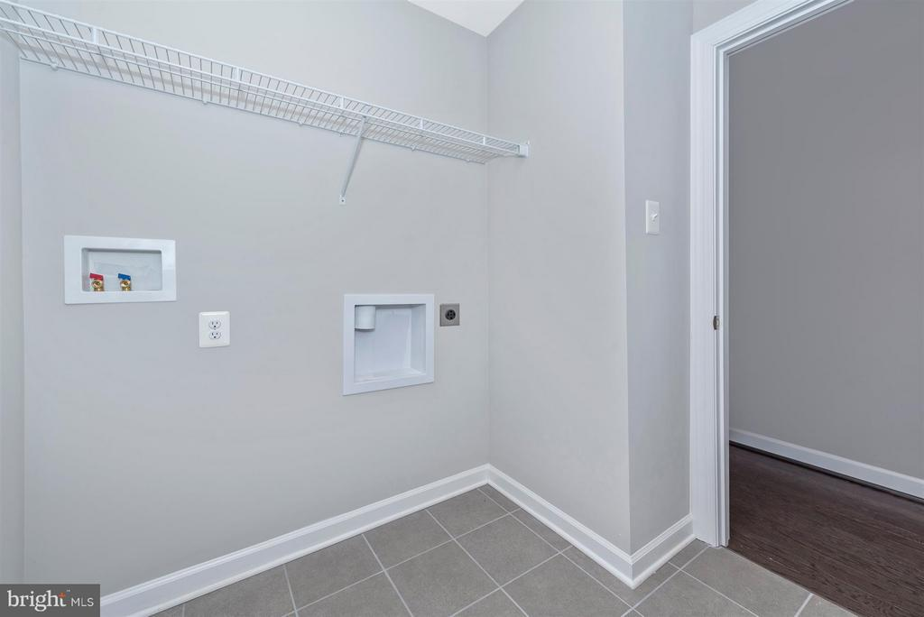 Laundry room! - 7800 OLD RECEIVER RD, FREDERICK