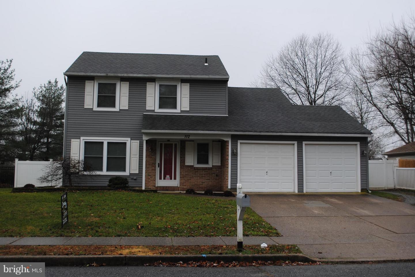 Single Family Home for Sale at 112 SHERWOOD Lane Westampton, New Jersey 08060 United States