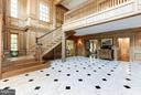 Formal Lobby with extensive millwork - 1001 MURPHY DR, GREAT FALLS