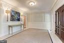 Casual family foyer - 1001 MURPHY DR, GREAT FALLS