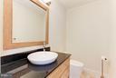 Casual powder room - 1001 MURPHY DR, GREAT FALLS