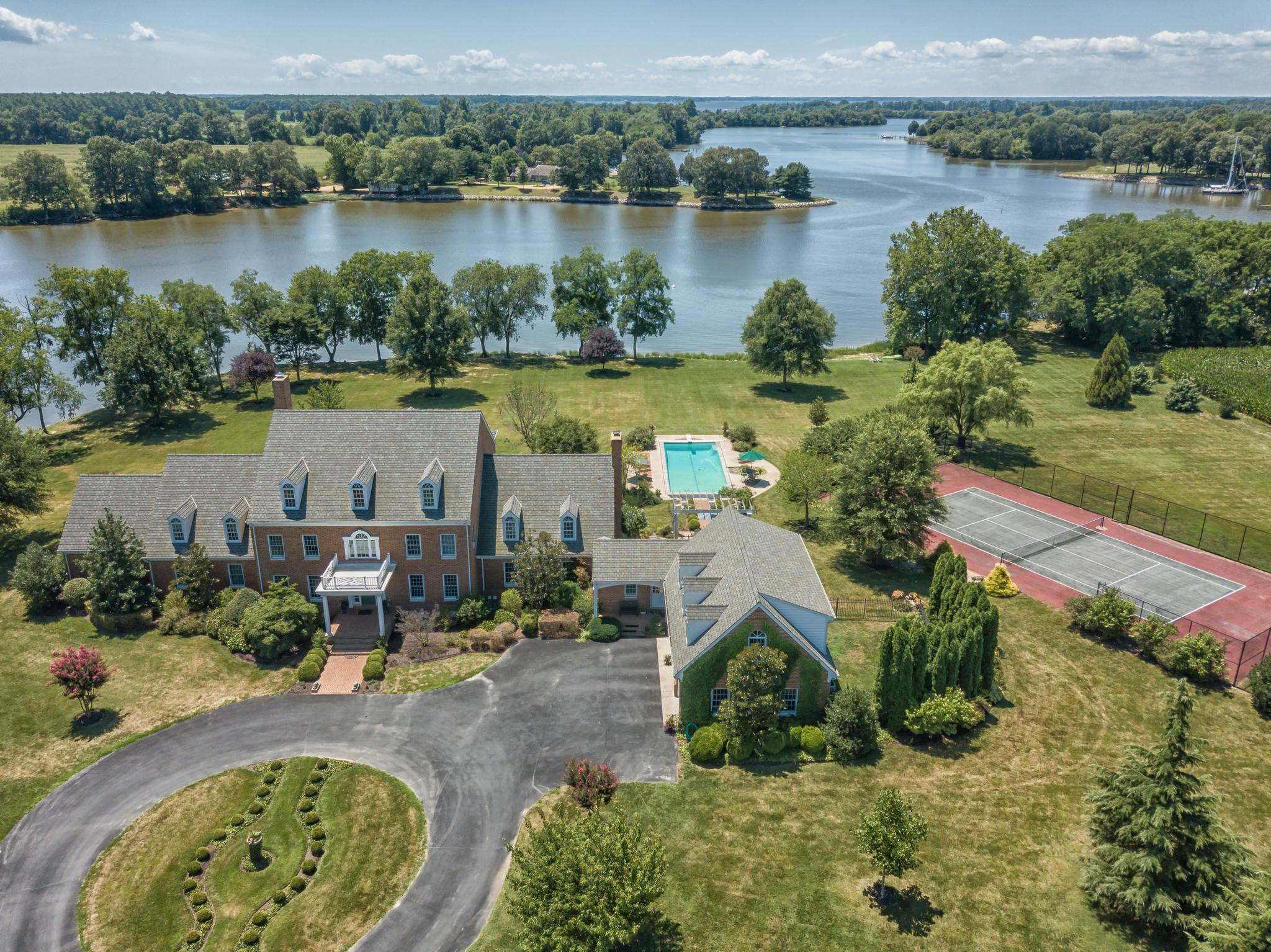 Property for Sale at 28115 Southside Island Creek Rd 28115 Southside Island Creek Rd Trappe, Maryland 21673 United States