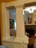 Touches of period architecture. - 1016 DOUGLAS ST NE, WASHINGTON