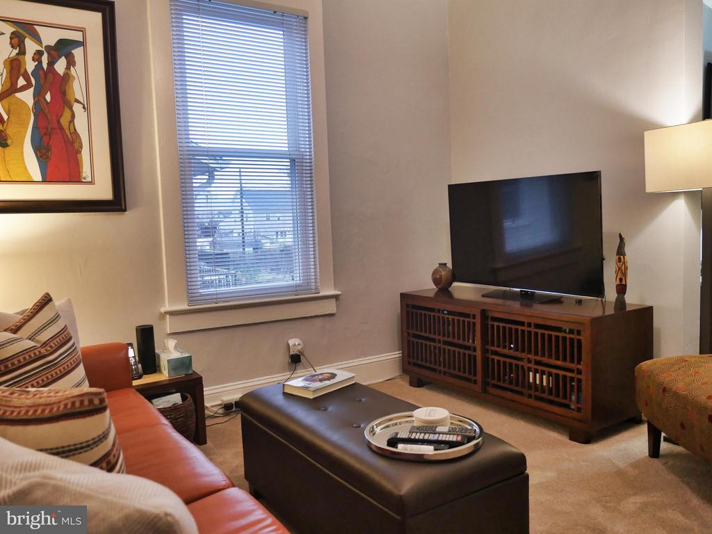 Relax in the family room. - 1016 DOUGLAS ST NE, WASHINGTON