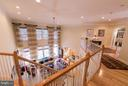 Open Upper Level to below - 21813 AINSLEY CT, BROADLANDS
