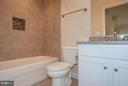Lower Level Full Bath - 7824 KENT RD, ALEXANDRIA